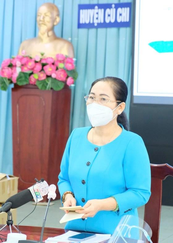 Chủ tịch HĐND TPHCM Nguyễn Thị Lệ: Huyện Củ Chi mở cửa nhưng không để dịch lây lan, mất kiểm soát - Ảnh 2
