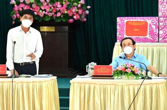 """Bí thư Thành ủy TPHCM Nguyễn Văn Nên: Vừa đảm bảo chống dịch, vừa đảm bảo """"sức khỏe"""" nền kinh tế - Ảnh 5"""