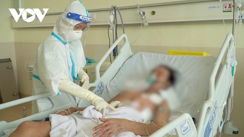 Bệnh nhân đã tỉnh táo sau phẫu thuật (Ảnh BV Chợ Rẫy).