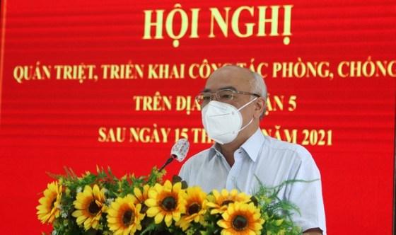 Trưởng Ban Tuyên giáo Thành ủy TPHCMPhan Nguyễn Như Khuê phát biểu tại hội nghị