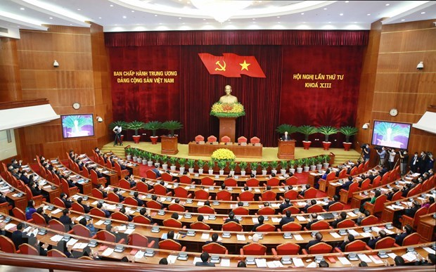 Bế mạc Hội nghị lần thứ tư, Ban Chấp hành Trung ương Đảng khóa XIII - Ảnh 2