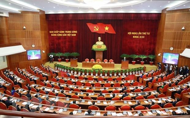 Toàn văn phát biểu bế mạc Hội nghị lần 4 BCH Trung ương Đảng khóa XIII - Ảnh 1