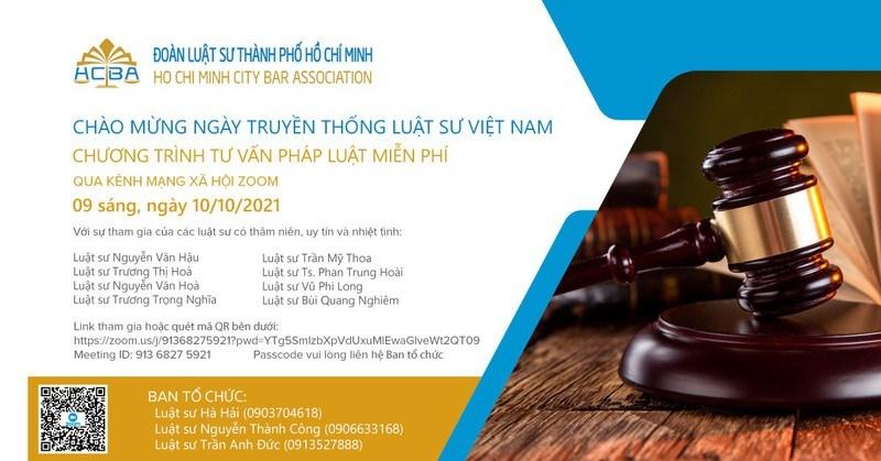 Chương trình tư vấn pháp luật ngày 10/10. Ảnh: BTC cung cấp