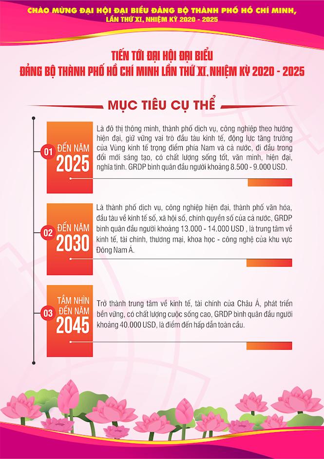 [Inforgraphics] Chào mừng Đại hội đại biểu Đảng bộ TPHCM lần thứ XI, nhiệm kỳ 2020 - 2025 - Ảnh 7