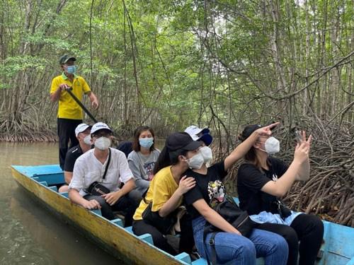 Tour Cần Giờ đã được mở bán cho du khách có nhu cầu, bao gồm cả trẻ em, tại một số công ty du lịch