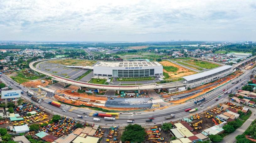 Các dự án giao thông sắp hoàn thành tại TP.HCM - Ảnh 1