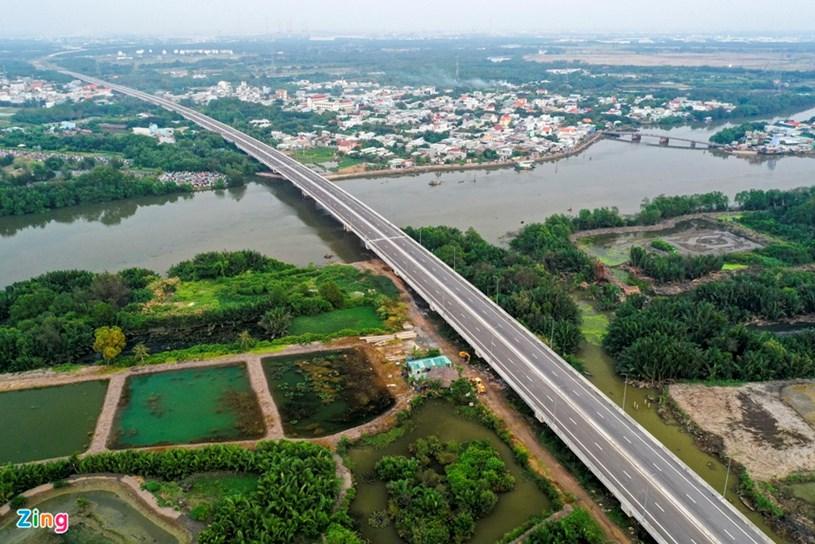 Các dự án giao thông sắp hoàn thành tại TP.HCM - Ảnh 56