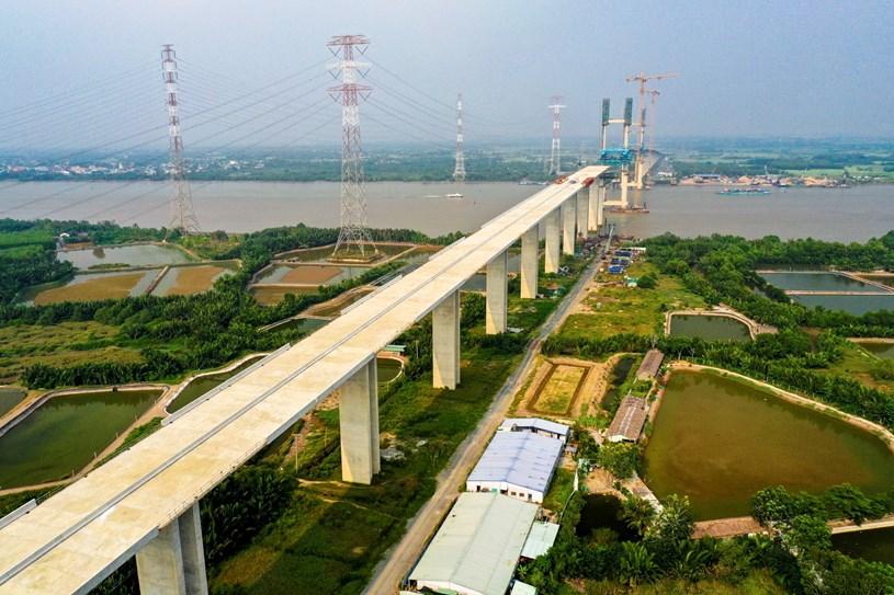Các dự án giao thông sắp hoàn thành tại TP.HCM - Ảnh 46