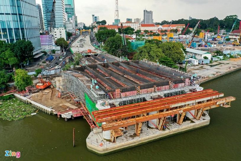 Các dự án giao thông sắp hoàn thành tại TP.HCM - Ảnh 30