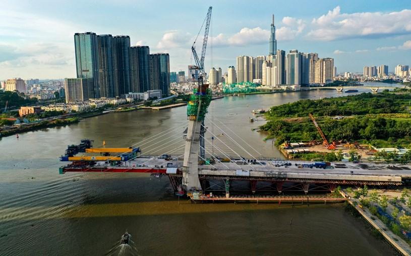 Các dự án giao thông sắp hoàn thành tại TP.HCM - Ảnh 28