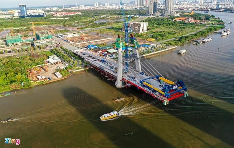 Các dự án giao thông sắp hoàn thành tại TP.HCM - Ảnh 27