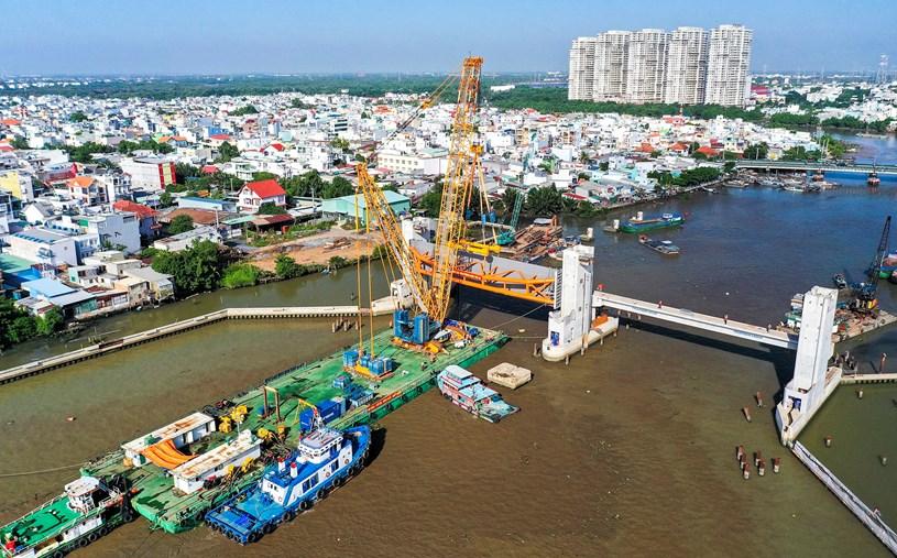 Các dự án giao thông sắp hoàn thành tại TP.HCM - Ảnh 37