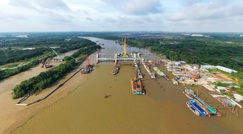 Các dự án giao thông sắp hoàn thành tại TP.HCM - Ảnh 34