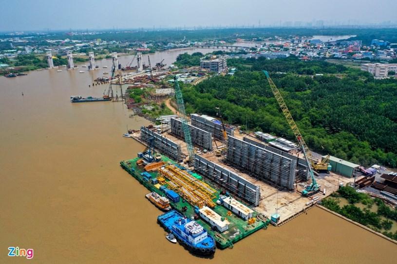 Các dự án giao thông sắp hoàn thành tại TP.HCM - Ảnh 44