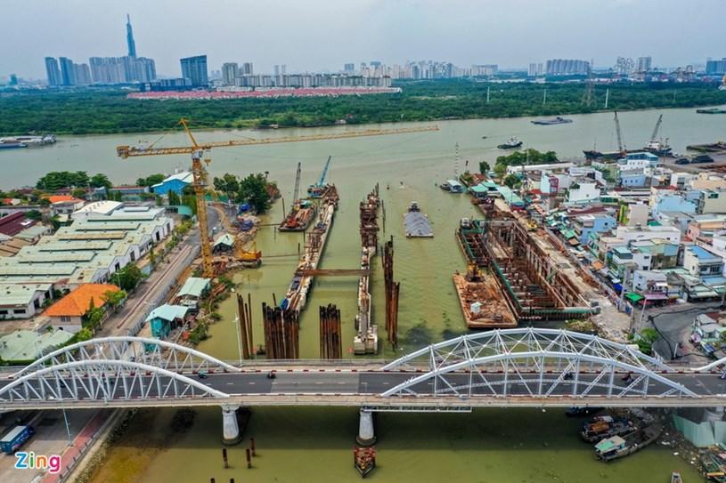 Các dự án giao thông sắp hoàn thành tại TP.HCM - Ảnh 43