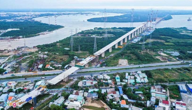 Các dự án giao thông sắp hoàn thành tại TP.HCM - Ảnh 49