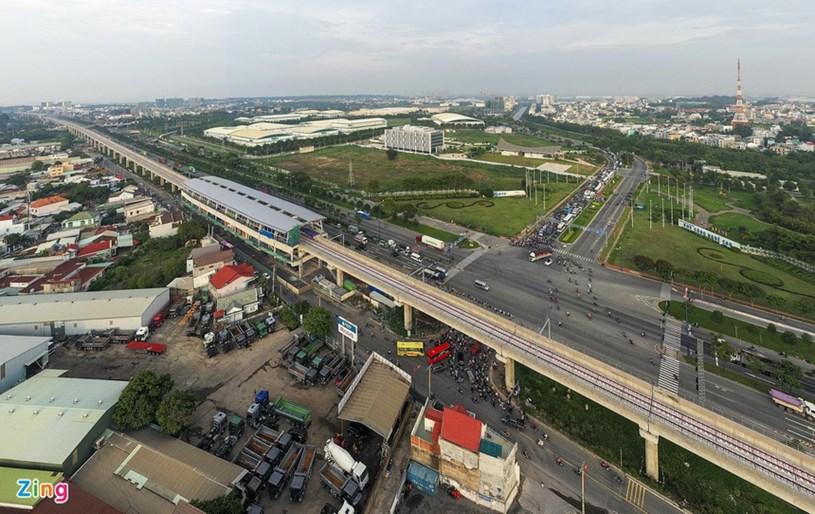 Các dự án giao thông sắp hoàn thành tại TP.HCM - Ảnh 14