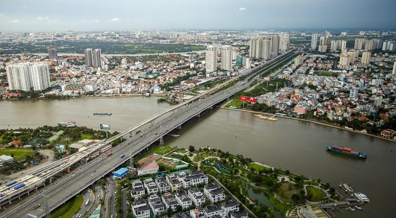 Các dự án giao thông sắp hoàn thành tại TP.HCM - Ảnh 12
