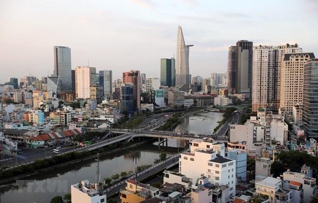 Một góc Thành phố Hồ Chí Minh. (Ảnh: Thành Chung/TTXVN)