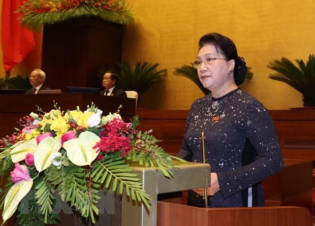 Khai mạc trọng thể Kỳ họp thứ 10, Quốc hội khóa XIV - Ảnh 2