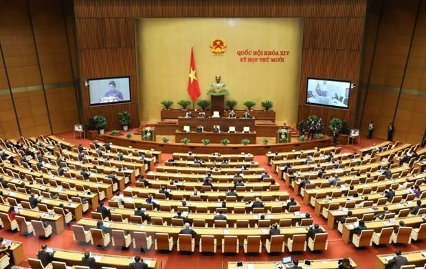 Khai mạc trọng thể Kỳ họp thứ 10, Quốc hội khóa XIV - Ảnh 1