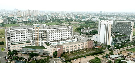 Khu Y tế kỹ thuật cao tại quận Bình Tân, TPHCM. Ảnh: CAO THĂNG