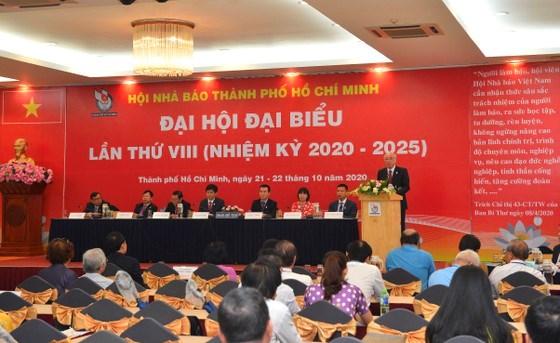 Trưởng Ban Tuyên giáo Thành ủy TPHCM Phan Nguyễn Như Khuê phát biểu chỉ đạo tại đại hội. Ảnh: VIỆT DŨNG