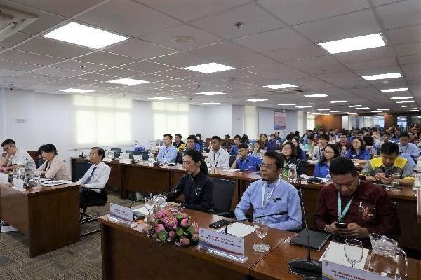 """Đại biểu tham dự chương trình thảo luận """"Thông tin và Truyền thông của SSEAYP"""