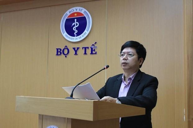 Thạc sỹ Nguyễn Trọng Khoa - Phó Cục trưởng Cục Quản lý khám, chữa bệnh. (Ảnh: PV/Vietnam+)