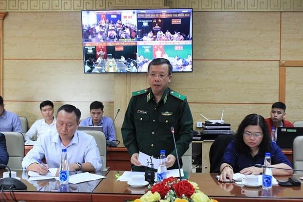 Thiếu tướng Nguyễn Đức Mạnh - Phó Tư lệnh Bộ tư lệnh Bộ đội Biên phòng. (Ảnh: PV/Vietnam+)