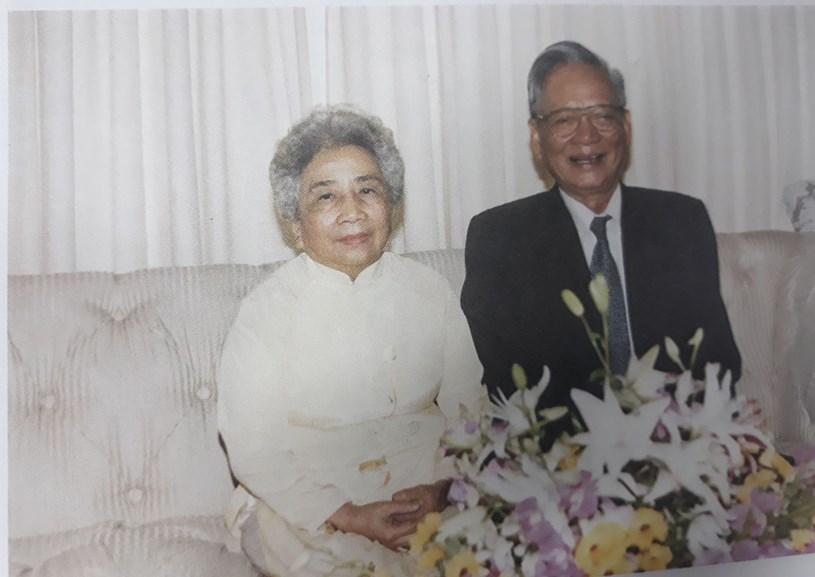 Đại tướng Lê Đức Anh và phu nhân, năm 1997
