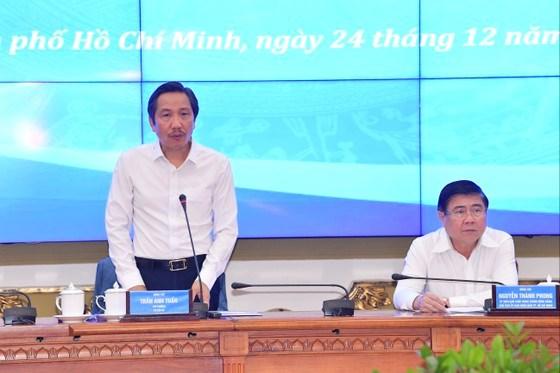 Thứ trưởng Bộ Nội vụ Trần Anh Tuấn phát biểu tại phiên họp. Ảnh: VIỆT DŨNG