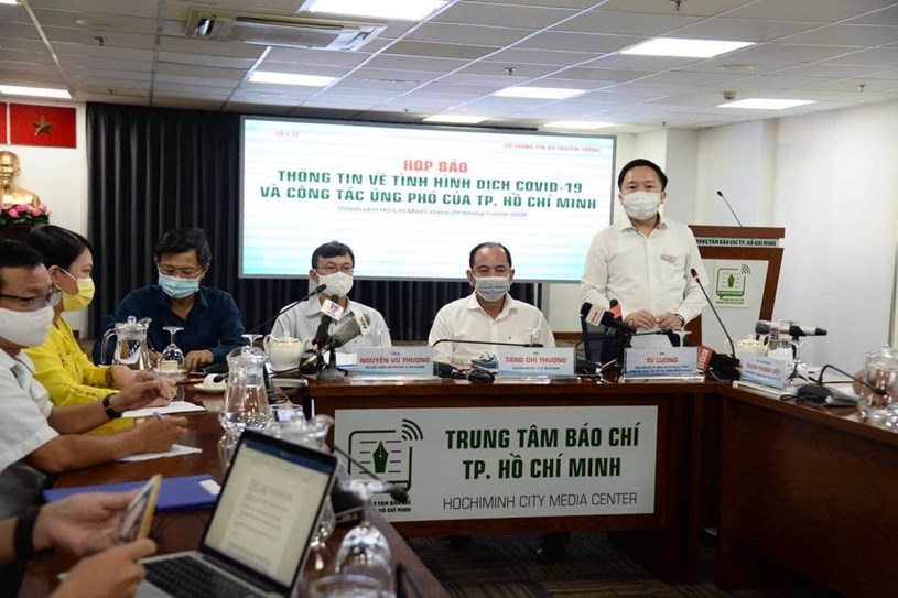 Ông Từ Lương, Phó Giám đốc Sở Thông tin truyền thông TP cho biết việc thông tin sai lệch về dịch bệnh Covid-19 sẽ bị xử lý nghiêm.