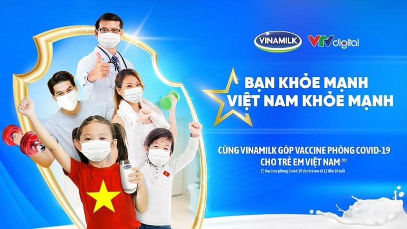 Với hoạt động đầu tiên của chiến dịch, Vinamilk sẽ góp 10 tỷ đồng để mua Vaccinephòng Covid-19 cho trẻ em Việt Nam.