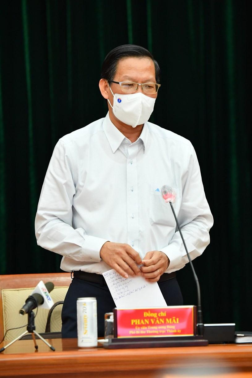 Phó Bí thư Thường trực Thành ủy Phan Văn Mãi