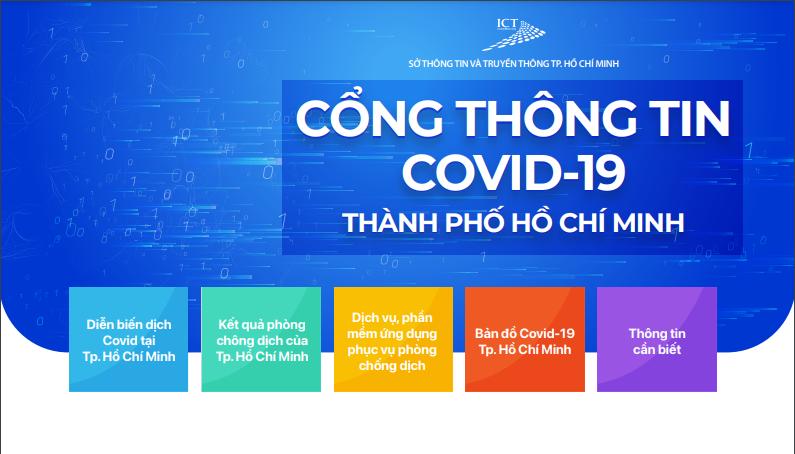 TPHCM ra mắt Cổng thông tin COVID-19 - Ảnh 1