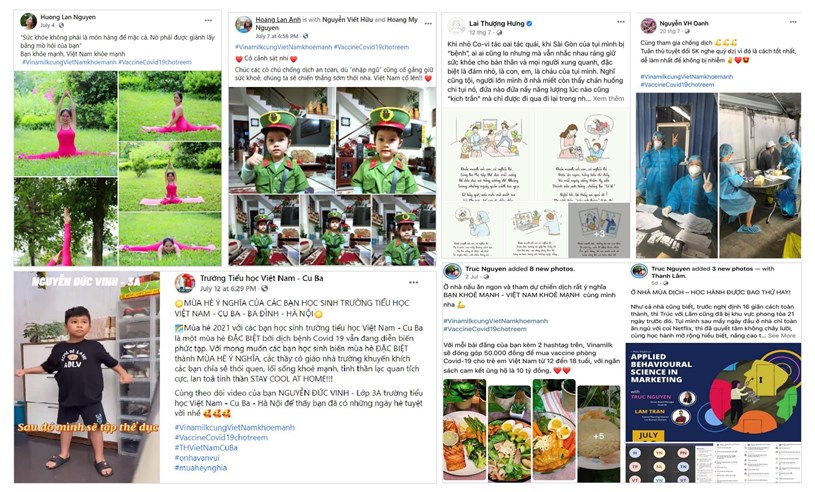 """Chia sẻ về lối sống khỏe mạnh, về câu chuyện truyền cảm hứng hay """"bí kíp"""" giữ tinh thần vui vẻ, lạc quan… là những cách cộng đồng mạng đã tham gia vào chiến dịch suốt 1 tháng qua"""