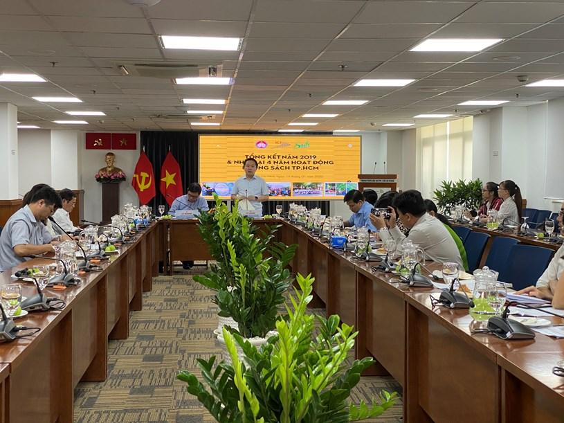 Ông Từ Lương, Phó Giám đốc Sở Thông tin và Truyền thông TP HCM khẳng định Đường sách là niềm tự hào của người dân Thành phố