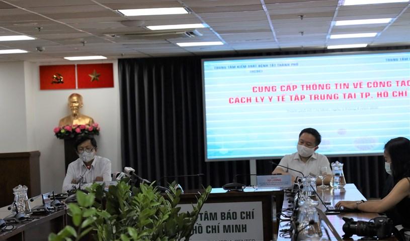 TP. Hồ Chí Minh ưu tiên xét nghiệm nhanh cho người sắp kết thúc thời gian cách ly tập trung