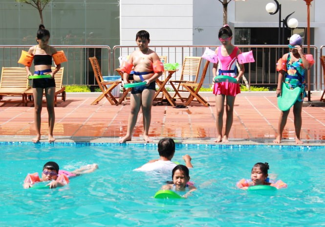 Tổ chức lễ phát động toàn dân tập luyện môn bơi phòng, chống đuối nước vào ngày 23/8