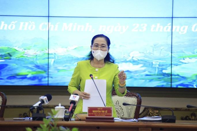 Chủ tịch Ủy ban Bầu cử TP Nguyễn Thị Lệ chủ trì phiên họp chiều 23-2