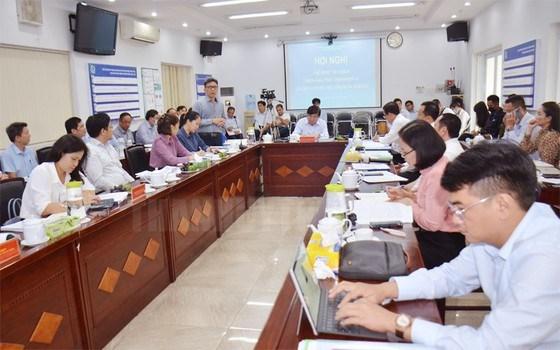 Hội nghị duyệt kế hoạch thực hiện mục tiêu, nhiệm vụ của Sở Khoa học và Công nghệ (KH-CN) TPHCM năm 2021. Ảnh: hcmcpv