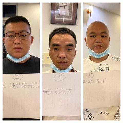 3người Trung Quốcnhập cảnh trái phépvào TPHCM