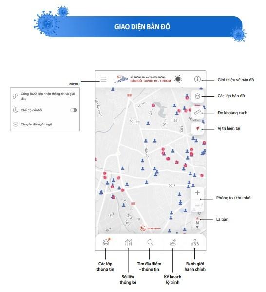 [Infographic] Chức năng mới của Bản đồ COVID-19 phiên bản 2.0 - Ảnh 2