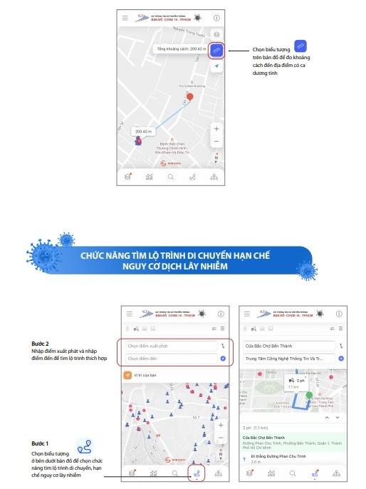 [Infographic] Chức năng mới của Bản đồ COVID-19 phiên bản 2.0 - Ảnh 6