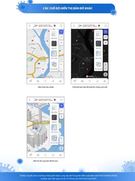 [Infographic] Chức năng mới của Bản đồ COVID-19 phiên bản 2.0 - Ảnh 8