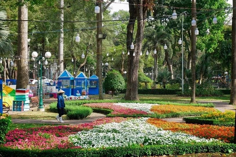 Công viên Tao Đàn (quận 1, TPHCM). Ảnh: Chân Phúc