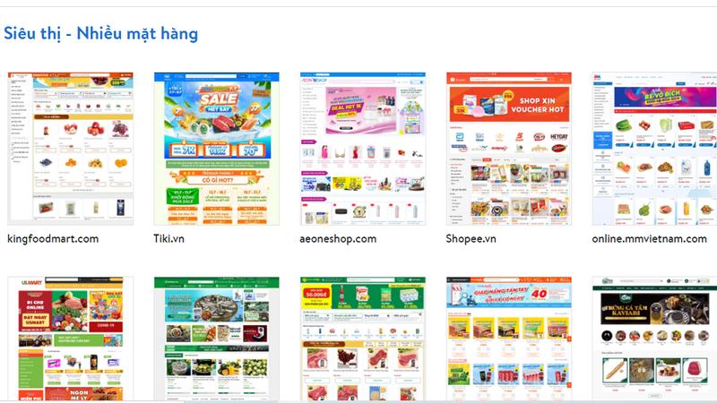Người dân truy cập vào website của từngđịa chỉsẽ tìm được hàng hóa theo nhu cầu