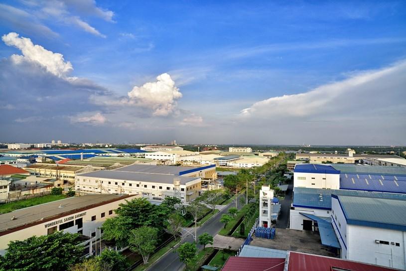 Khu chế xuất Tân Thuận. Nguồn: Internet