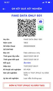"""Trả kết quả xét nghiệm bằng QR Code cho người dân qua ứng dụng di động """"Y tế HCM"""" - Ảnh 7"""